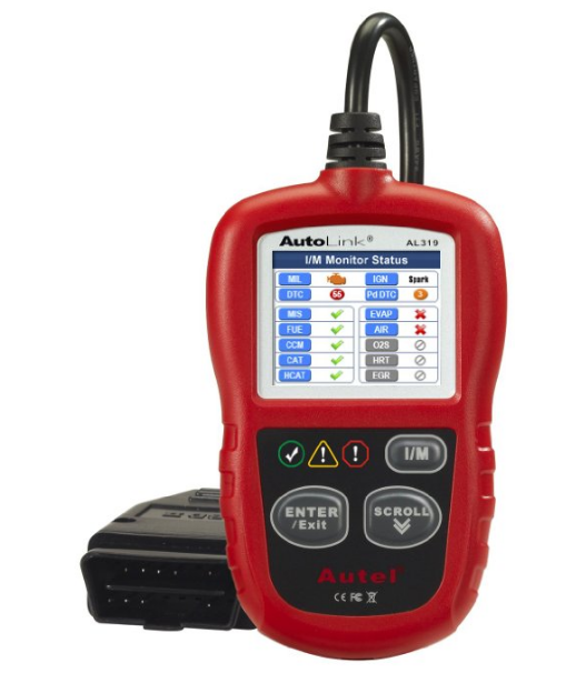 OBD Code Scanner Autel AutoLink AL319 OBD II & CAN Scan Tool