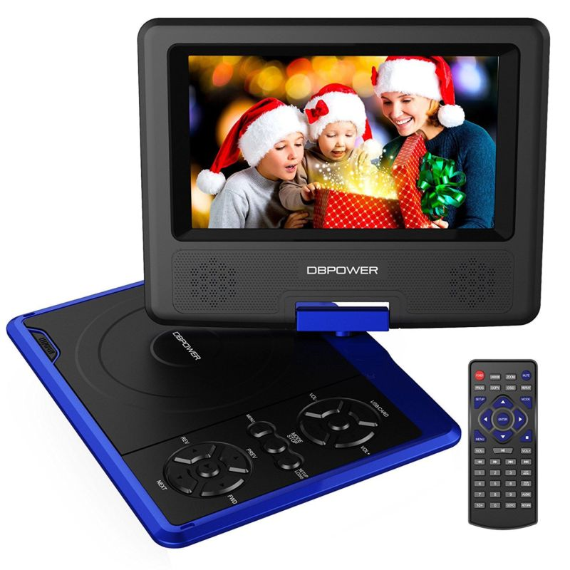 dbpower 9.5-inch portable dvd player with hdmi