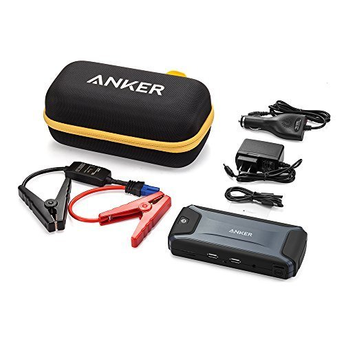 anker compact car jump starter and portable charger power bank with 400a peak current
