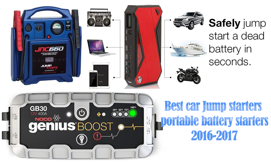 Best Portable Jump Starters Review In 2018 2019