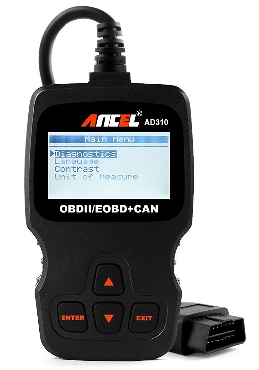 Ancel AD310 Classic Enhanced Universal OBD II Scanner Car Engine Fault Code Reader