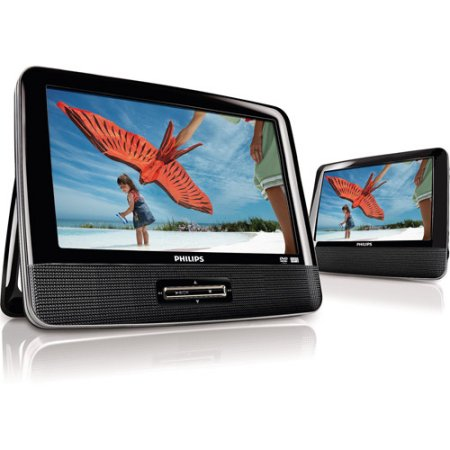 Philips Dual Screen portable dvd player