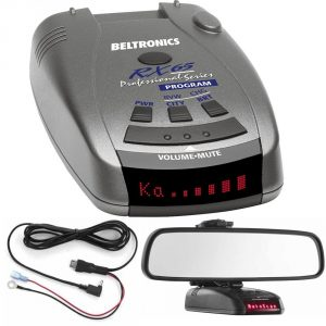 Beltronics RX65 - Red Professional Series Radar Detector