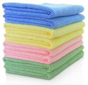 Vibra Wipe Microfiber Cleaning Cloth