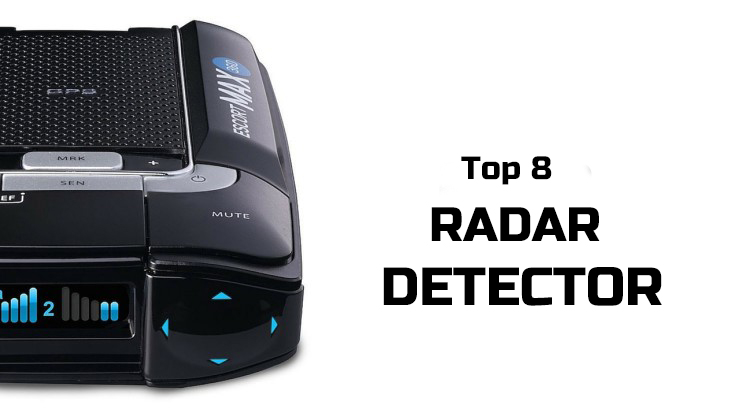Top 8 Best Radar Detector 2016 - 2017