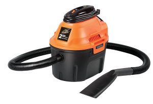 armor all 2.5 gallon, 2 peak hp, utility wet/dry vacuum, aa255