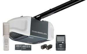 chamberlain wd962kev premium whisper drive garage door opener with myq technology and battery backup
