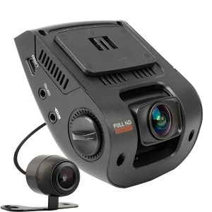 """rexing v1 2.4"""" lcd fhd 1080p 170 wide angle dashboard camera"""