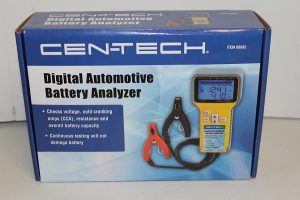 cen tech battery charger