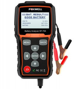 Foxwell BT705 12V and 24V Car Battery Load Tester and Charging System Analyzer