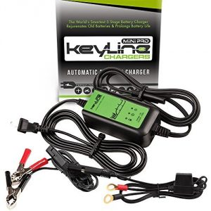 KeyLine Chargers KC-75A-MP 12V 0.75 Amp Automatic Mini Pro Car Battery Charger