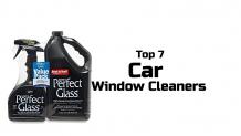 Top 7 Car Window Cleaners
