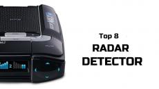 Top 8 Radar Detectors
